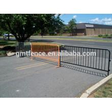 Barrière de barrière à tube en acier galvanisé extérieur pour piétons