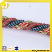 customized fabric Rope for Cushion Decor Sofa Decor Living Room Bed Room