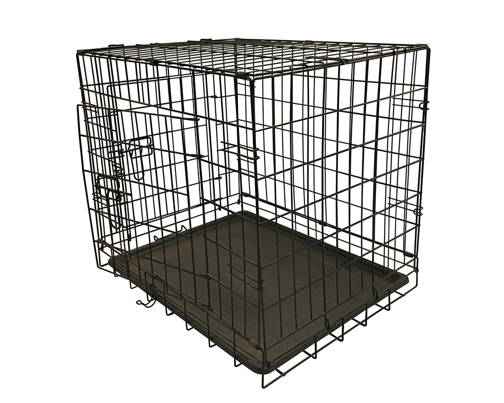 Black Durable Pet Cage