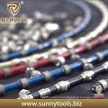Corde de scie à fil de diamant pour la coupe de marbre