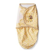 envoltório do cobertor do bebê swaddle animais de bambu swaddle ajustável