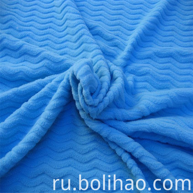 Jacquard Polar Fleece
