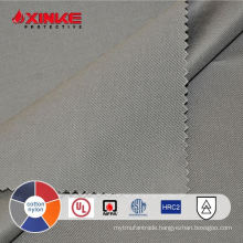 NFPA 70E 7oz gray CN Fire resistant fabric for safety clothing in stock