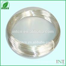 Fio de liga níquel prata material elétrico