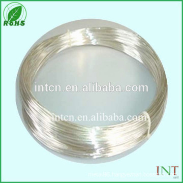 Electric material silver nickel alloy wire