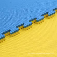 Padrão de folha de jigsaw de 2,5 cm 100cmx100cm puzzle mat