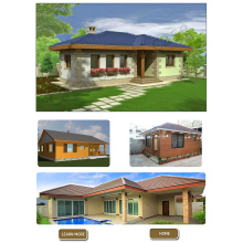 prefabricated small homes 50 m2 for sale