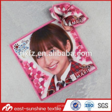 Custom Logo Printed Microfiber Lens Cloth with heat transfer printing for glasses