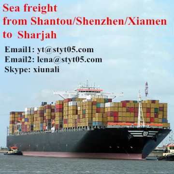 Internationale Seefracht von Shantou nach Sharjah