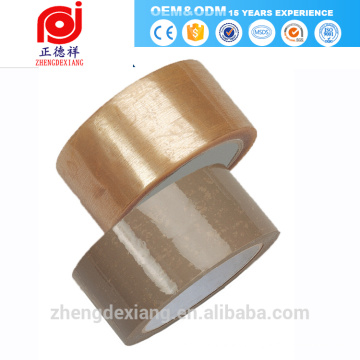 china cromo adhesivo de embalaje barato cohesivo de goma transparente pegajoso adhesivo conducto cinta transferencia mylar para automóviles