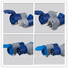 rrd-11 16A 400V IP44 4Pin 60HZ couplers sockets Plugs