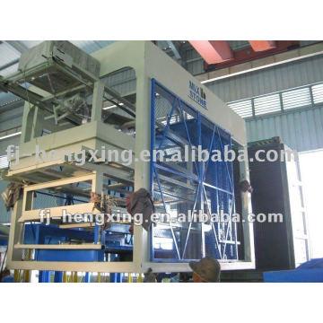 Venda quente HQTY8-15 cimento tijolo oco fazendo máquina