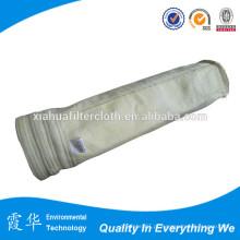 Sacos de filtro de fibra de vidro não tecidos a alta temperatura