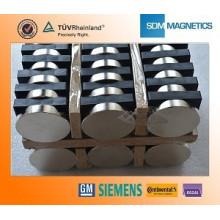Professionelle kundenspezifische Super Starke ISO / TS 16949 Certified Disc Magnete