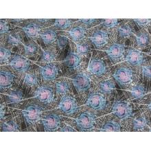 Polyester Chiffon Samt mit Druck (XSC011)