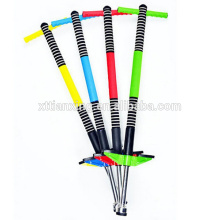 Hot selling jumping pogo stick for sale, air green power jumping pogo stick