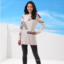 2016 New 30% cashmere women's knitting dress