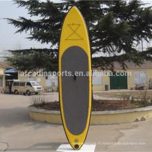 Panneaux gonflables de corps de tourisme de SUP de planche à roulettes de SUP d'AQUA Yoga