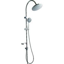 Columna de cabezal de ducha de acero inoxidable Circle Top Shower
