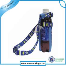 Bracelet en coton en couleur personnalisé avec porte-bouteille