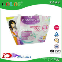 beautiful printed shopping bag, pp non woven bag wholesale, non woven promotional tote bag