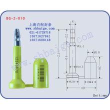 vedação de parafuso BG-Z-010, vedação de parafuso de alta segurança