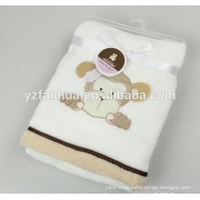 Diseños poco animales franela 70 * 100 para textiles para el hogar de fábrica confiable