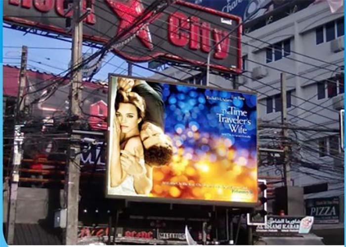 full color vivid image outdoor rental led display