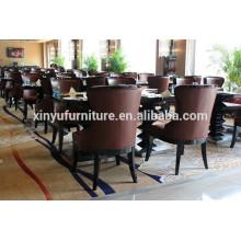 Modern restaurant chair and table set XDW1255