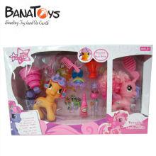 906990873 Cartoon horse toys for girls