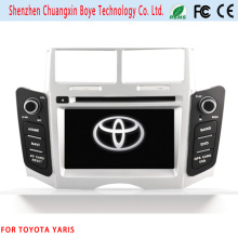 in Dash Car Multimedia Player for Toyota Yaris with GPS Navigation