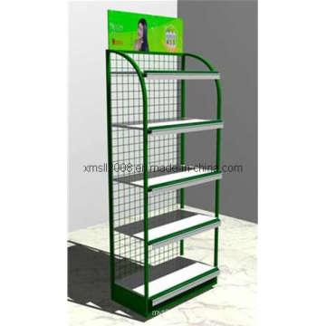 Tienda de muebles estante Rack supermercado estante exposición expositor (GDS-056)