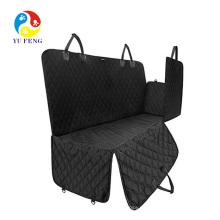Cubiertas de asiento de coche de tela de Oxford a prueba de agua Pet asiento trasero de asiento de coche de viaje cubre Mat para pequeño animal doméstico mediano grande