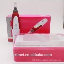 Pluma caliente de la piel del rodillo del derma de la terapia de la aguja de la venta caliente