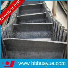 Sidewall Black Rubber Conveyor Belt
