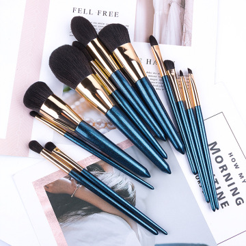 Premium Kristallgriff Make-up Pinsel Set