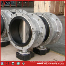 Flanged Center Line Type Rubber Lining Butterfly Valve
