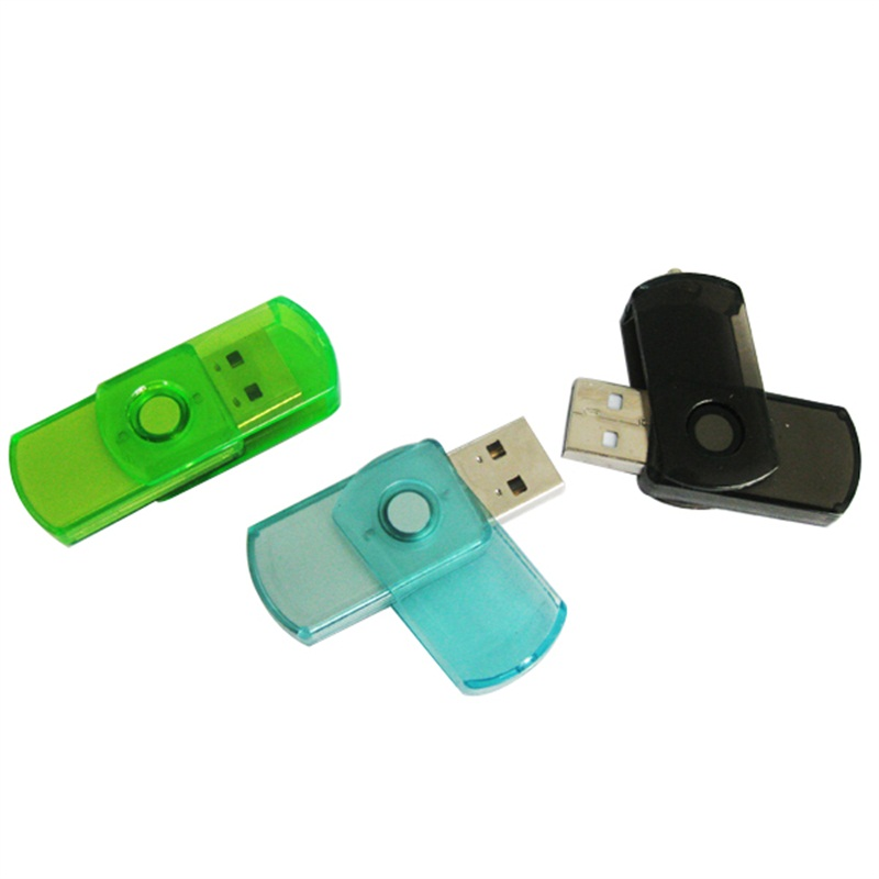 OEM Plastic Colorful Swivel Pendrive