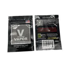 Aluminumng  Foil Laminated Plastic Weed Packagi Smell Proof Bags Small Zipper Package Bag Plastic Pouch