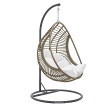 Rattan Swing Chair Hanging Indoor Chair Hammock with Cushion