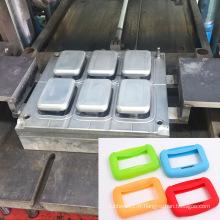Outil de moule de silicone en caoutchouc de compression d'injection de plastique