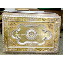 Building Material Artistic Ceiling Medallion Yiwu Factory Cheap Price 1218-3