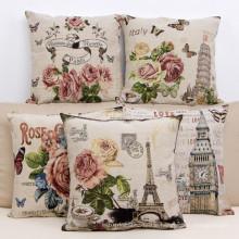 Decorative Jacquard Cushion for Home