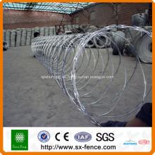 Malla de alambre de púas de la maquinilla de afeitar ISO9001