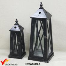 Lanterna da vela de madeira do molde do conjunto 2