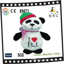 Plush Christmas Panda Toy