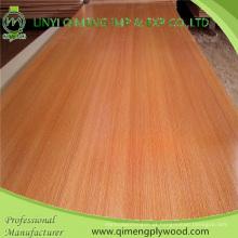 Forneça a madeira compensada da melamina de 12mm com núcleo do álamo e da folhosa