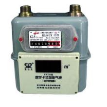 Medidor de gas del diafragma del caso de acero del hogar G1.6 / G2.5 / G4
