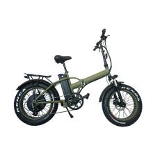 Fat Tire 20Inch Folding Electric Bike 500W 1000W beach electric bike