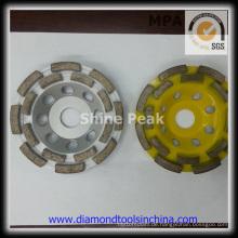 Schalenförmigen Schleifen Räder für Beton